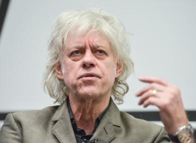 La rivelazione di Bob Geldof nei confronti della band di Bono e The Edge